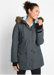 Funktions-Outdoor-Langjacke mit Kapuze, bpc bonprix collection