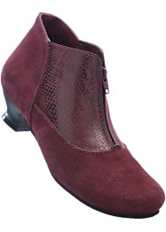 Bottines cuir confortables, bpc selection