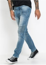 Jean extensible Slim Fit Straight, RAINBOW