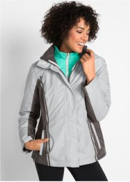 3-in-1-Funktions-Outdoorjacke, wattiert, bpc bonprix collection