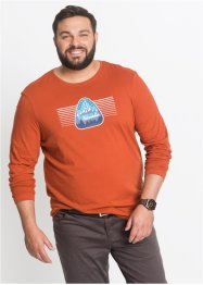 Langarmshirt m. Druck Regular Fit, bpc bonprix collection