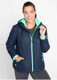 3-in-1-Funktions-Outdoorjacke, Innenjacke aus Kuschelfleece, bpc bonprix collection