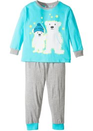 Pyjama GLOW IN THE DARK (2-tlg. Set), bpc bonprix collection