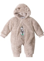 Combinaison bébé en fourrure peluche, bpc bonprix collection