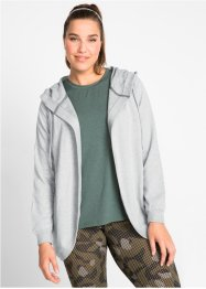 Sweatjacke mit Kapuze, langarm, bpc bonprix collection