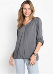Bluse mit langen Ärmeln, bpc bonprix collection