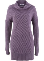 Long-Pullover mit Rollkragen, bpc bonprix collection