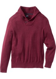 Schalkragen-Pullover Regular Fit, bpc bonprix collection