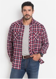Flanellhemd Regular Fit, John Baner JEANSWEAR