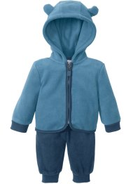Baby Fleecejacke + Fleecehose (2-tlg.), bpc bonprix collection