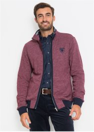 Sweatjacke m. Stehkragen Regular Fit, bpc selection