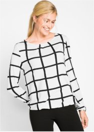Shirt mit elastischem Saum, Langarm - designt von Maite Kelly, bpc bonprix collection