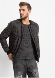 Lederimitat-Blouson im Regular Fit, RAINBOW