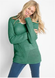 Strick-Pullover mit Struktur, bpc bonprix collection