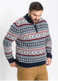 Norweger-Troyerpullover im Regular Fit, bpc selection