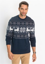 Pullover mit Norwegermuster Regular Fit, bpc bonprix collection