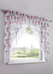 Kleinfenster mit Blumen Druck (2-tlg.), bpc living bonprix collection