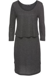 Shirtkleid in Strickoptik, BODYFLIRT