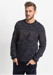 Pullover mit Wolle Slim Fit, RAINBOW