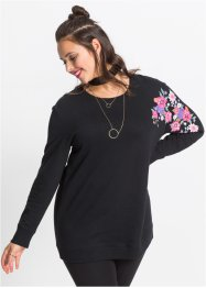 Sweat-shirt fleuri, RAINBOW
