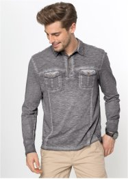 Langarmpoloshirt Regular Fit, bpc bonprix collection