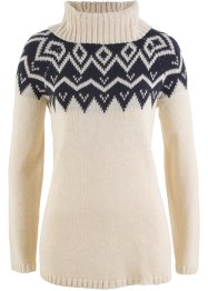 Langarm-Rollkragenpullover, bpc bonprix collection