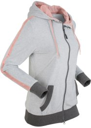 Langarm-Nikki-Sweatjacke, bpc bonprix collection