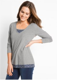 2-in-1-Langarmshirt, bpc bonprix collection
