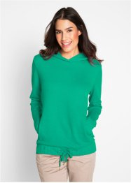 Sweatshirt mit Gummizug am Saum, bpc bonprix collection