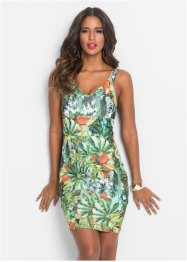 Robe à imprimé tropical, BODYFLIRT boutique