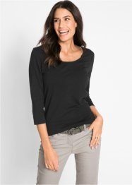 Stretch-Shirt mit 3/4-Arm, bpc bonprix collection
