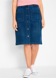Jupe en jean extensible, bpc bonprix collection