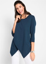 2in1-Flammgarn-Shirt im Lagenlook, bpc bonprix collection