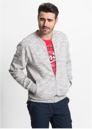 Gilet sweat col baseball Regular Fit, bpc bonprix collection