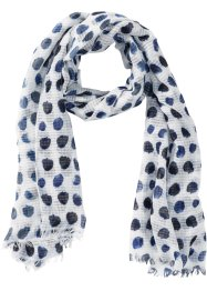 Foulard à pois bleus, bpc bonprix collection