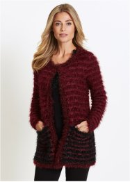 Strickjacke mit Federgarn, bpc selection