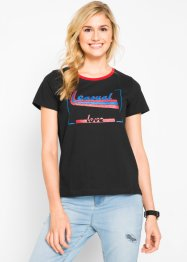 Kurzarm-Shirt mit Druck, bpc bonprix collection
