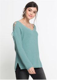 Pullover mit Cut-Outs, RAINBOW
