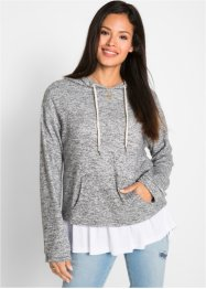 Sweat-shirt cropped - designed by Maite Kelly, bpc bonprix collection