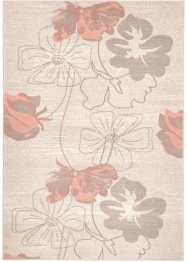 Teppich mit Blumen, bpc living bonprix collection