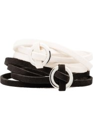 2-tlg. Wickelarmband-Set, bpc bonprix collection