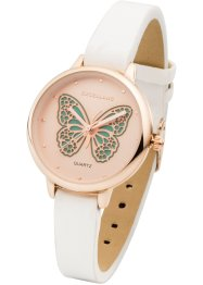 Montre avec motif papillon, bpc bonprix collection