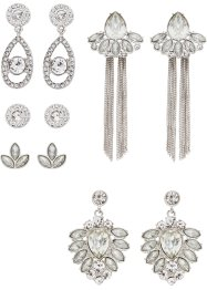 5 paires de boucles d'oreilles, bpc bonprix collection