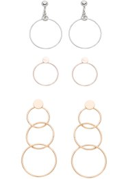 3er Set Ohrringe, bpc bonprix collection