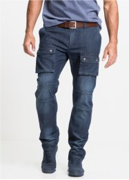 Jean léger Cargo Regular Fit Straight, John Baner JEANSWEAR