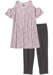 Capri Pyjama mit Leggings, bpc bonprix collection