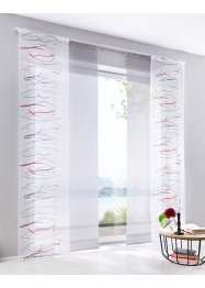Panneau coulissant transparent uni (1 pce.), bpc living bonprix collection
