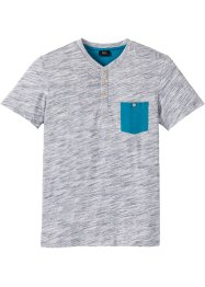 T-shirt col Henley Regular Fit, bpc bonprix collection