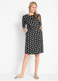 Jersey-Kleid, kurzarm - designt von Maite Kelly, bpc bonprix collection