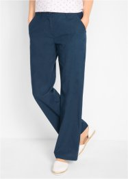Pantalon mélangé lin, ample, bpc bonprix collection